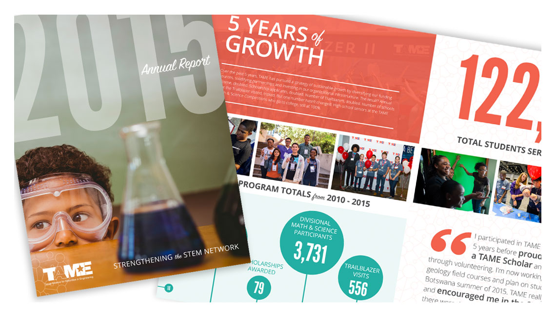 TAME 2015 Annual Report