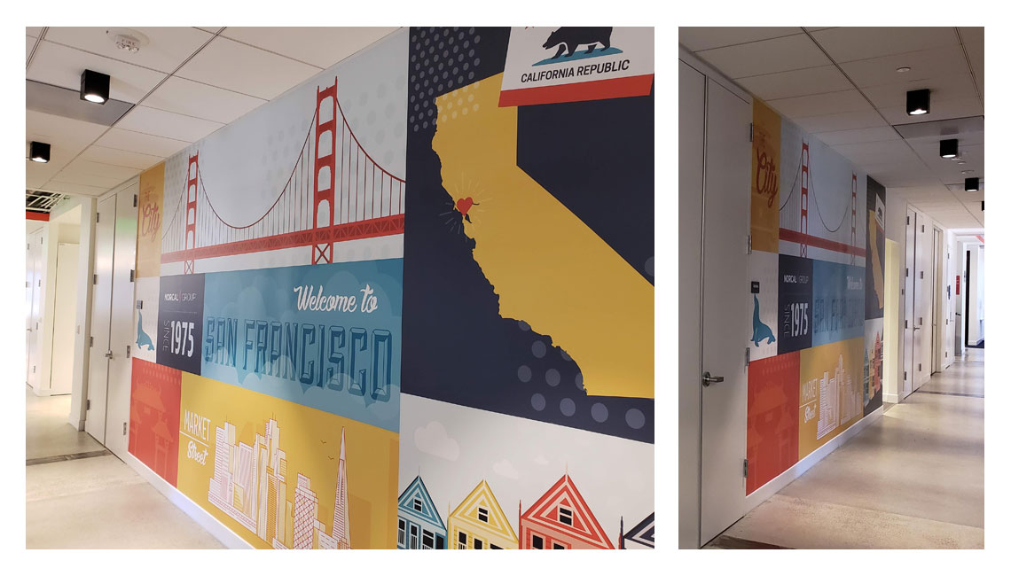 NORCAL Group San Francisco office mural